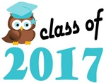 2017 Graduation Tee Shirts (owl)