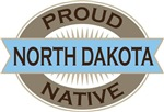 Proud North Dakota Native T-shirts