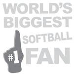 Softball Fan Foam Hand Tees