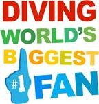 Diving Fan Sports T-shirts
