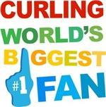Curling Fan Sports T-shirts