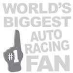 Auto Racing Fan Foam Hand Tees