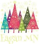 Eagan Minnesota Holiday Tshirts