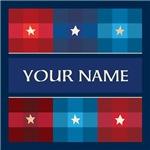 Personalized Patriotic Quilt Pattern