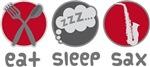 Eat Sleep Saxophone gifts