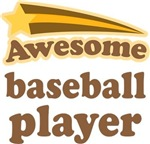 Awesome Baseball Player T-shirts
