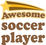 Awesome Soccer Player T-shirts