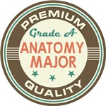 Anatomy Major vintage college look tees