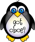 Oboe Penguin T-shirts and Gifts