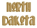Fun North Dakota T-shirts and Gifts