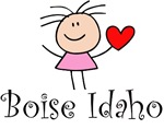 Boise Idaho Cute T-shirts and Gifts