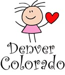 Cute Denver Colorado T-shirts and Gifts