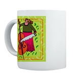 String Bass Music Mugs