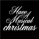 Have A Musical Christmas T-shirts for Men and Wome