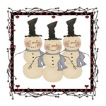 Cute Country Snowman T-shirts