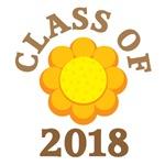 SUNFLOWER CLASS OF 2018 T-SHIRTS
