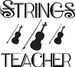 Classical Strings Teacher T-shirts and Gifts