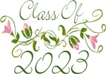 Pink Flowered Class Of  2023 Gifts