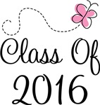Cute Pink Class Of 2016 T-shirts