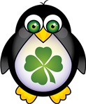 Cute Irish St Patricks Day Penguin T-shirts