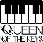 Queen Of The Keys PIANO Gifts and T-shirts