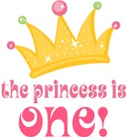 1st Birthday Princess Is OneT-shirts