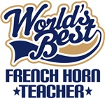French Horn Teacher T-shirts and Gifts