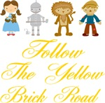 Follow The Yellow Brick Road Oz T-shirts