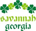 SAVANNAH IRISH SHAMROCK T-SHIRTS