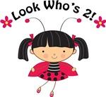 2nd Birthday Ladybug Tshirts