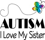 Autism I Love My Sister T-shirts
