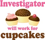 Funny Investigator T-Shirts and Gifts