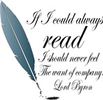 Copy of Lord Byron Funny Writer Quote T-shirts