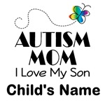 Autism Mom Personalized T-shirts