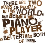 Funny Piano Player T-shirts and Gifts