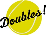 Fun Tennis Doubles T-shirts and Gifts