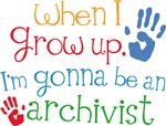Future Archivist Kids T-shirts