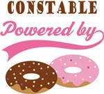 Constable Powered By Doughnuts Gift T-shirts