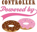 Controller Powered By Doughnuts Gift T-shirts