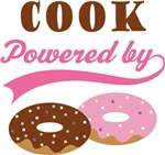 Cook Powered By Doughnuts Gift T-shirts