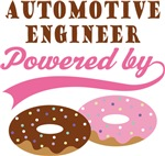 Automotive Engineer Powered By Doughnuts Gifts