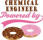 Chemical Engineer Powered By Doughnuts Gift Tees