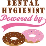 Dental Hygienist Powered By Donuts Gift Tees