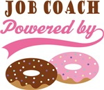 Job Coach Powered By Donuts Gift T-shirts