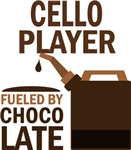 Cello Player Fueled By Chocolate Gifts