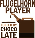 Flugelhorn Player Fueled By Chocolate Gifts