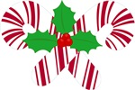 Cute Christmas Candy Cane T-shirts and Gifts