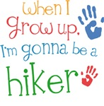 Future Hiker Kids T-shirts