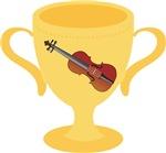 Violin Trophy Award Tshirts and Gifts