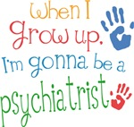 Future Psychiatrist Kids T-shirts